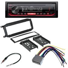 JVC InDash MP3 USB Car Radio Stereo DASH KIT FOR DODGE CHRYSLER JEEP 2002 - 2007