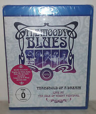 BLU-RAY MOODY BLUES - THRESHOLD OF A DREAM: Isle Of Wight - NUOVO NEW