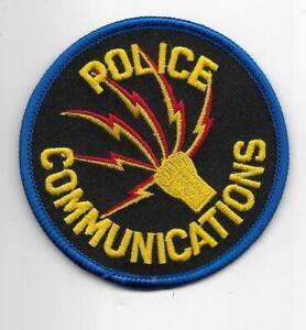 Dayton OHIO COMMUNICATIONS Police Patch Polizei Abzeichen ELSt EinsatzLeitstelle