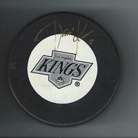 Jari Kurri Signed Los Angeles Kings Trench Puck
