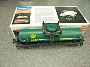 American Flyer / Lionel  M-K-T  NASG 1989 Convention Tank Car Unused In Orig. Bx