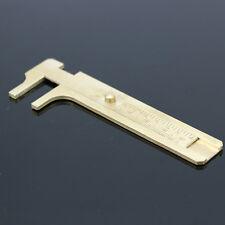 80mm SlidingJewelry Bead Making Beading Jem Brass Caliper  Jewelers Gauge Tool