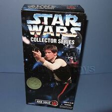 """1996 HASBRO KENNER STAR WARS COLLECTOR SERIES HAN SOLO 12"""" FIGURE BOXED SEALED"""