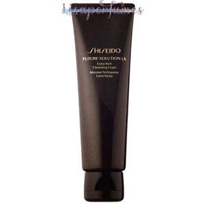 Shiseido Future Solution LX Extra Rich Cleansing Foam 4.7oz / 125ml NIB