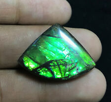STUNNING 24.25 CARATS NATURAL CANADIAN AMMOLITE CABOCHON 21x29x5.5MM