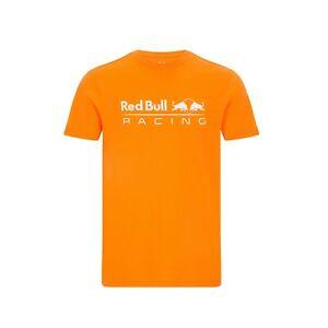 Red Bull Racing Large Logo T-shirt - Orange - 2021