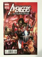 AVENGERS: THE CHILDREN'S CRUSADE #9 (2012)   HULKLING & WICCAN 1ST FIRST KISS