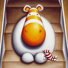 Peter Smith Fine Art Giclee THE NAUGHTY STEP LTD. EDITION Impossimals ***RARE***