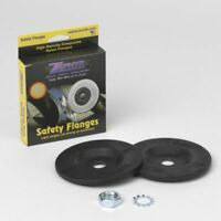 "Zephyr SFPR58-4 Airway Buff Safety Flange Set 8"" and 10"" Airway Wheels 5/8""Arbor"