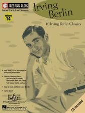 IRVING BERLIN JAZZ PLAY ALONG SHEET MUSIC SONG BOOK CD