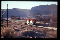PHOTO  USA RAILWAY SD40-2R 3407 AND RG SD40T-2 5376 AT THOMPSONS SPRING UT