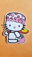 Hello Kitty Embroidered Iron on patch / Applique / Badge