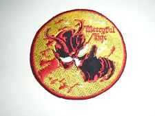 MERCYFUL FATE DON'T BREAK THE OATH IRON ON EMBROIDERED PATCH