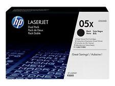 2 TONER HP 05X + 50% OFFERT / ce505xd ce505a ce505 ce505x 05a 05 laserjet p2055