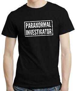 Paranormal Investigator - Ghost Hunter Haunted Gift Spirits Mens Tshirt T-shirt