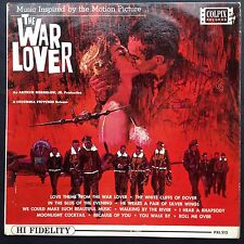 Import! Steve McQueen WAR LOVER film soundtrack LP 1962 Addinsell Shiro Hirosaki