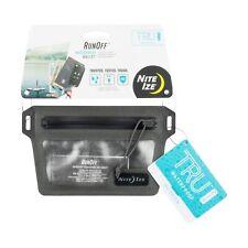 Nite Ize RunOff Waterproof Wallet Pocket-Size Billfold With Belt Loop Dustproof