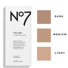 NO7 City Light Tinted Moisturiser SPF 15  50ml