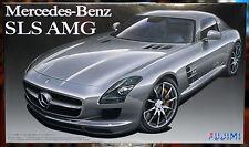 2010 Mercedes Benz SLS AMG mit Fotoätzteilen, 1:24, Fujimi 123929