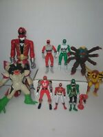 Power ranger Action Figure lot vintage, lost galaxy,  megaforce and more