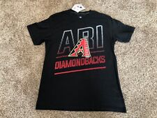 Arizona Diamondbacks MLB Men's Short Sleeve Ring Spun Soft T-shirt Large NWT