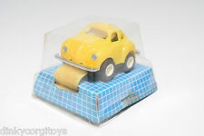 HONG KONG VW VOLKSWAGEN BEETLE KAFER WATCH UHR YELLOW MINT BOXED RARE