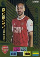 PANINI ADRENALYN XL PREMIER LEAGUE PLUS 2020/21 AUBAMEYANG GOLDEN BALLER 496