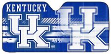 NCAA Kentucky Wildcats Deluxe Universal Fit Auto Windshield Sun Shade