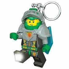 LEGO Nexo CAVALIERI Aaron Keylight CON SCUDO CODICE DI Potenza Portachiavi Luce Nuovo