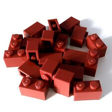 LEGO® Dark Red Brick 1x2 (X20) 'NEW' 3004