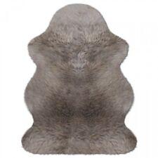 Australisches Lammfell Lammfelle Taupe farben Premium Qualität ca. 100 x 68 cm