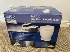 Jabsco Lite Flush Electric 12V Toilet w/Control Panel
