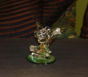 Walt Disney Arribas Brothers Fantasia Mickey Mouse Sorcerer Crystal Figurine