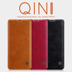 Genuine Nillkin PU Leather Flip Card Case Business Cover For Huawei P30 / Lite