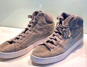 PUMA hohe Sneaker 1948 MID, grau, Größe 45, Modell 35913816, top Zustand