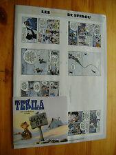 Supplément au Journal de Spirou n°3749 - mini-récit LETURGIE Tekila