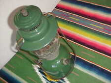 VINTAGE COLEMAN LANTERN-1944-MODEL 242C-GREEN-SINGLE MANTLE-9/4-ORIGINAL-NICE