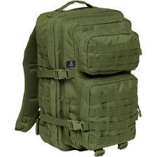 BRANDIT US COOPER RUCKSACK LARGE MILITARY ASSAULT BACKPACK ARMY MOLLE PACK OLIVE