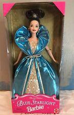 Barbie Doll Blue Starlight 1996 Special Edition Brunette Dark Hair Mattel  New