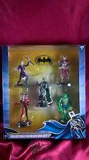 BATMAN COLLECTIBLE 5 BOX SET BATMAN KILLER CROC DEADSHOT JOKER HARLEY QUINN NEW