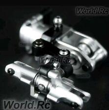 Trex 450 v2/v3 belt drive complete tail rotor unit in silver for align,hk,tarot