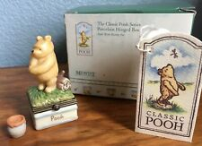 Midwest of Cannon Falls Hinged Box Classic Pooh with a Honey Pot Phb