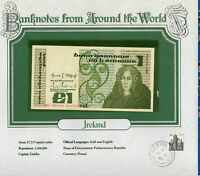 World Banknotes Ireland 10-07-1984 1 pound UNC P 70c UNC Low DKI 004126