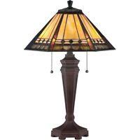 Arden - 2 Light Table Lamp  Tiffany Finish Table Lamp Quoizel Lighting TF1135T