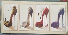 FRAMED STILETTO SHOE PRINT FOR YOUR HOME