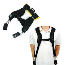Quick Rapid Camera Double Shoulder Sling Belt Black Neck Strap for Digital DSLR