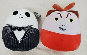 Lot of (2) Squishmallows Disney©️ Halloween The Nightmare Before Christmas NWT