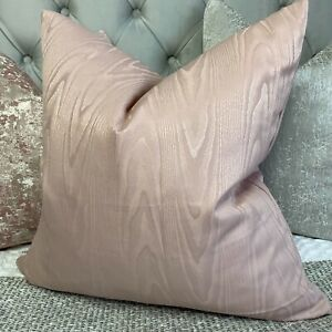Scatter Cushion Pillow Cover Blush Pink Home Decor Double Sided Designer Fabric