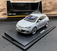 Motorart Opel Astra J GTC 1/43 Collector's Model Car - Vauxhall  - Mineral White