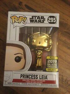 Funko Pop Vinyl - Star Wars Princess Leia (Gold) #295